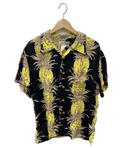 hanauma bay(ハナウマベイ)hanauma bay (ハナウマベイ) アロハシャツ ブラック サイズ:SIZE Lの古着・服飾アイテム