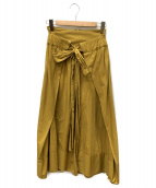1/2un-demi(アンドゥミ)の古着「スカート」 ブラウン