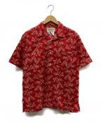 MONITALY(モニタリー)の古着「アロハシャツ」|レッド