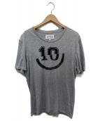 Martin Margiela 10(マルタンマルジェラ10)の古着「再構築Tシャツ」|グレー