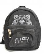 KENZO(ケンゾー)の古着「タイガー刺繍ミニリュック」|ブラック