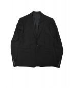 LAD MUSICIAN(ラッドミュージシャン)の古着「2タックセットアップスーツ」 ブラック