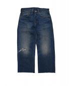 LEVIS VINTAGE CLOTHIN(リーバイス ヴィンテージ クロージング)の古着「501XX 1937 カットオフ」 インディゴ