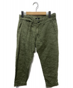 TMT(ティーエムティー)の古着「CAMOUFLAGE OVER DYE CROPPED PA」|カーキ