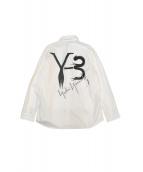 Y-3(ワイスリー)の古着「手書きロゴシャツ」 ホワイト