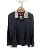 ROTAR(ロータ)の古着「バックロゴボウリングシャツ」|ブラック