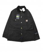 Carhartt WIP(カーハート ダブリューアイピー)の古着「別注ウールカバーオール」 ブラック