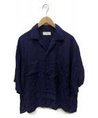 Jieda(ジエダ)の古着「オープンカラーシャツ」 パープル