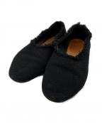 HENDER SCHEME(エンダースキーマ)の古着「カットオフスリッポン」|ブラック