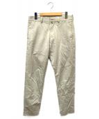YAECA(ヤエカ)の古着「STANDARD CHINO CLOTH PANTS」|ベージュ