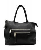 REPLAY(リプレイ)の古着「2WAYレザートートバッグ」|ブラック