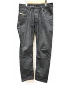 DIESEL(ディーゼル)の古着「スリムジーンズ」 インディゴ