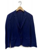 HUGO BOSS(ヒューゴボス)の古着「2Bサマージャケット」 ブルー
