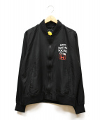 ANTI SOCIAL SOCIAL CLUB(アンチソーシャルソーシャルクラブ)の古着「Honda Pico Bomber Jacket」|ブラック