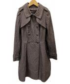 TO BE CHIC(トゥービーシック)の古着「ナイロンキルティングコート」|ブラウン