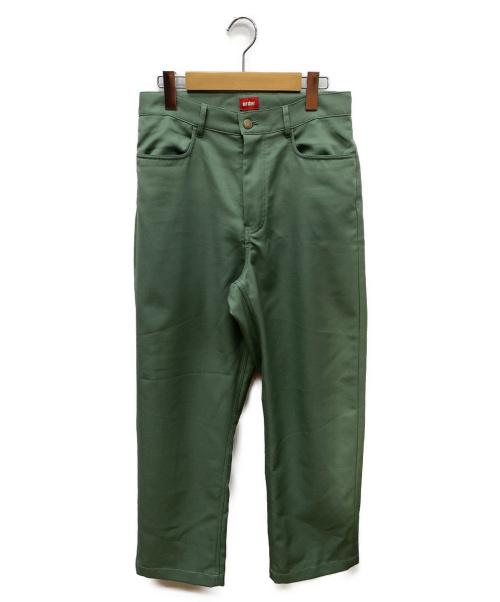 order(オーダー)order (オーダー) loose twill pants グリーン サイズ:SIZE Sの古着・服飾アイテム