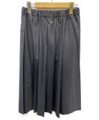 charpentier de vaisseau(シャルパンティエ ドゥ ヴェッソ)の古着「プリーツスカート」|グレー