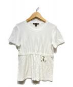 LOUIS VUITTON(ルイヴィトン)の古着「リボン付カットソー」 ホワイト