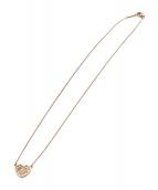 Tiffany & Co.(ティファニー)の古着「エンチャントハートネックレス」|ブロンズ