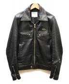 Lewis Leathers(ルイスレザーズ)の古着「DOMINATOR」|ブラック
