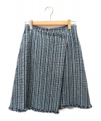 TOCCA(トッカ)の古着「RICH GIRL スカート」|ブルー