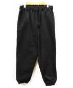 TUKI(ツキ)の古着「gum pants」|ブラック