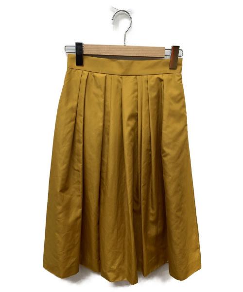 Mystrada(マイストラーダ)Mystrada (マイストラーダ) アシメタックカラースカート イエロー サイズ:SIZE 36の古着・服飾アイテム