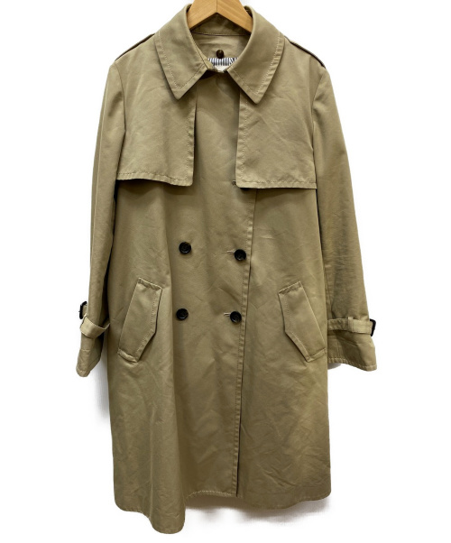 自由区(ジユウク)自由区 (ジユウク) トレンチコート ベージュ サイズ:40 春物の古着・服飾アイテム