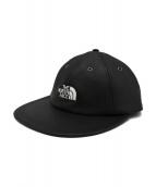 SUPREME×THE NORTH FACE(シュプリーム×ザ・ノースフェイス)の古着「LEATHER 6-PANEL CAP」 ブラック
