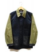MACKINTOSH EDIT(マッキントッシュエディット)の古着「ボンディングカバーオール」|ネイビー