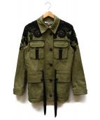 VERONICA BEARD(ベロニカビアード)の古着「Heritage Utility Jacket」 カーキ