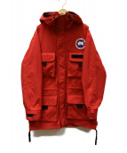CANADA GOOSE(カナダグース)の古着「Harbour Jacket」 レッド