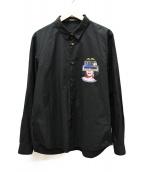 UNDERCOVER(アンダーカバー)の古着「ブロードシャツ」|ブラック