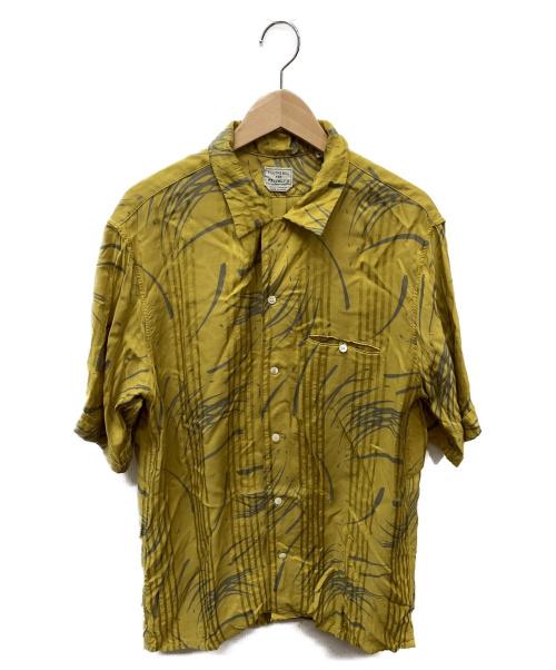 FILL THE BILL(フィルザビル)FILL THE BILL (フィルザビル) 別注アロハシャツ イエロー×グレー サイズ:SIZE 2の古着・服飾アイテム