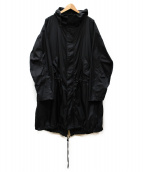 Calvin Klein Jeans(カルバンクラインジーンズ)の古着「EST 1978 LOGO PARKA」|ブラック