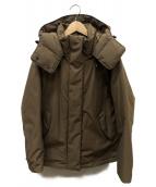 URBAN RESEARCH DOORS(アーバンリサーチドアーズ)の古着「グリーンダウンショートジャケット」|ベージュ