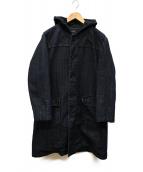 A.P.C.(アーベーセ)の古着「デニムフーデッドコート」|ブルー