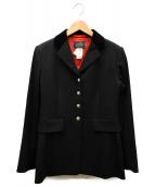 HERMES(エルメス)の古着「ホースライディングジャケット」|ブラック
