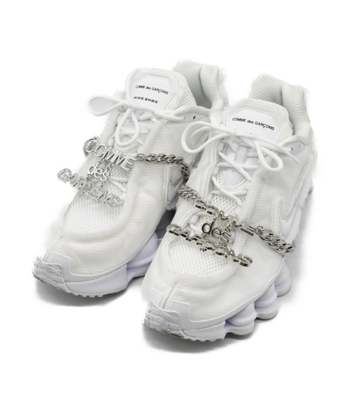 NIKE(ナイキ)NIKE (ナイキ) W SHOX TL  CDG ホワイト サイズ:28cmの古着・服飾アイテム