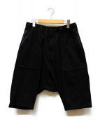 Y-3(ワイスリー)の古着「M SAROUEL SHORT」|ブラック