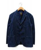 PHERROWS(フェローズ)の古着「ウォバッシュテーラードジャケット」|インディゴ