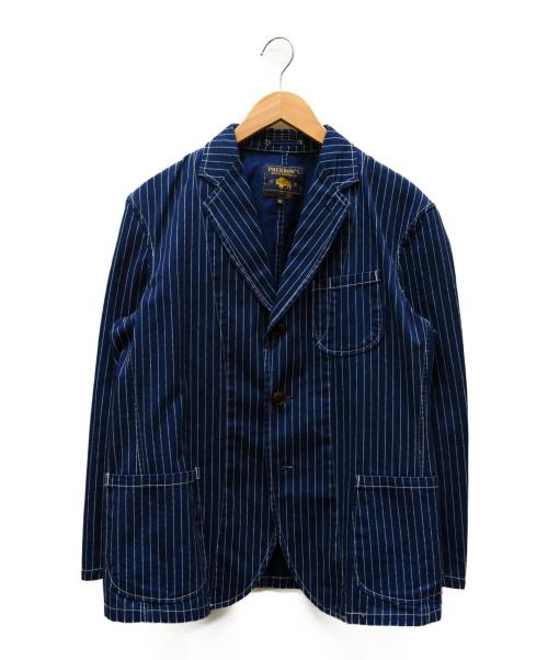 PHERROWS(フェローズ)PHERROWS (フェローズ) ウォバッシュテーラードジャケット インディゴ サイズ:SIZE Mの古着・服飾アイテム