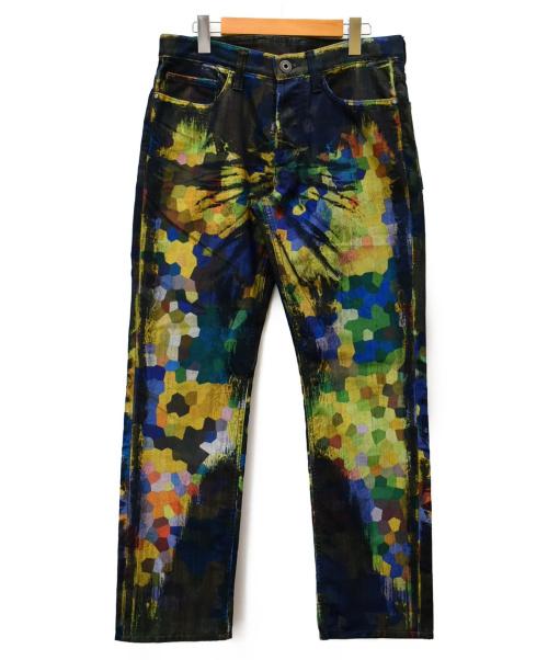 ISSEY MIYAKE MEN(イッセイミヤケメン)ISSEY MIYAKE MEN (イッセイミヤケメン) デザインパンツ マルチカラー サイズ:SIZE 2の古着・服飾アイテム