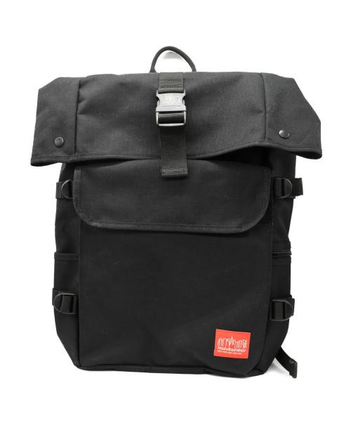 Manhattan Portage(マンハッタンポーテージ)Manhattan Portage (マンハッタンポーテージ) silvercup backpack ブラックの古着・服飾アイテム