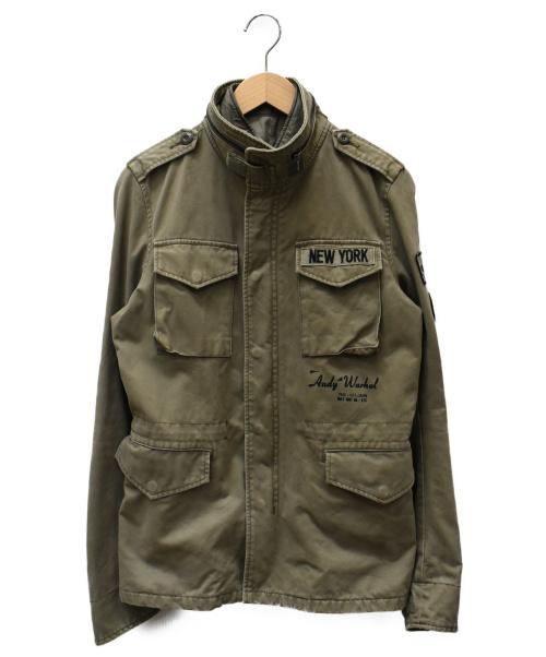 Hysteric Glamour(ヒステリックグラマ)Hysteric Glamour (ヒステリックグラマ) M65ジャケット カーキ サイズ:SIZE Sの古着・服飾アイテム