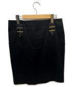 GUCCI(グッチ)の古着「バックルスカート」 ブラック