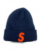 SUPREME×NEWERA(シュプリーム×ニューエラ)の古着「S Logo Beanie」|ネイビー