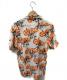 ROTAR (ロータ) 総柄開襟シャツ ホワイト サイズ:SIZE M:2480円