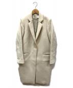 ENFOLD(エンフォルド)の古着「チェスターコート」 ホワイト