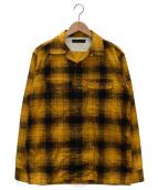 FULLCOUNT(フルカウント)の古着「オープンカラーシャツ」|イエロー